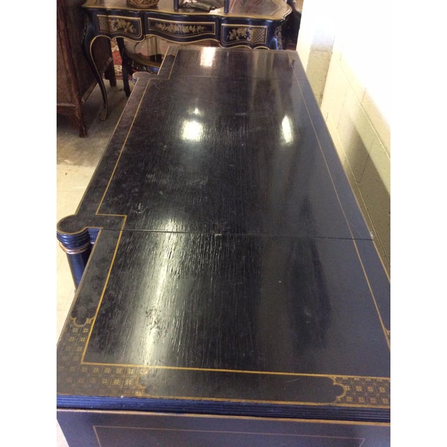 Vintage Chinoiserie-Style Flip Top Bar or Buffet - Image 8 of 9