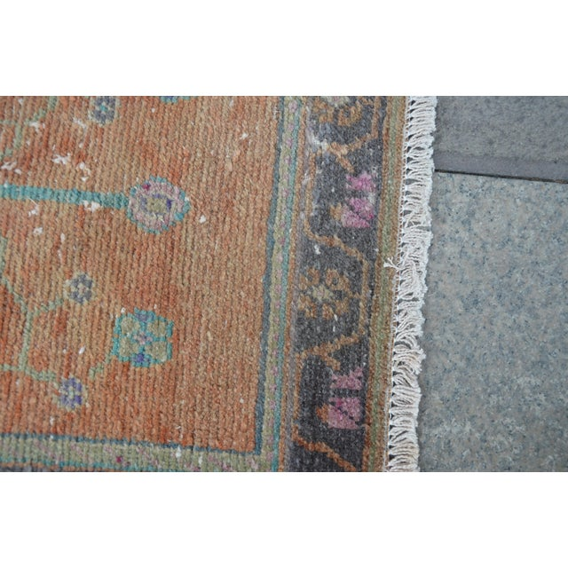 Turkish Oushak Rug For Sale In Austin - Image 6 of 6