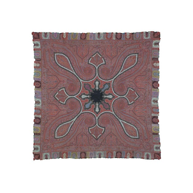 Antique Kashmiri Shawl For Sale - Image 9 of 9
