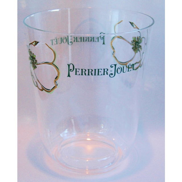Plastic Vintage Perrier Jouët Champagne Wine French Bucket Chiller For Sale - Image 7 of 10