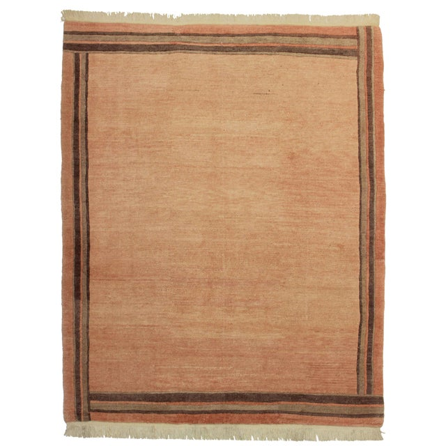 """RugsinDallas Hand Knotted Wool Rug - 6'5"""" X 8'2"""" - Image 1 of 2"""