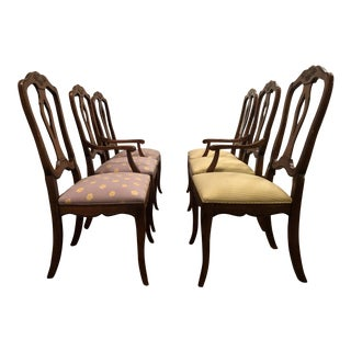 Late 20th Century Vintage Ethan Allen Chairs - Set of 6 For Sale