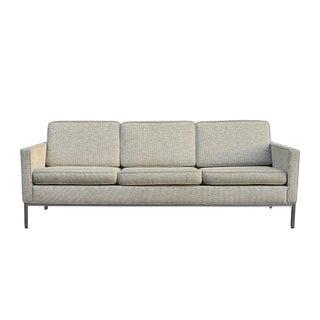 Mid-Century Modern Knoll Style Sofa For Sale