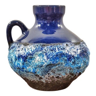"""1970s Marei Keramik 'Capri' Jug Vase 4302 (7"""") For Sale"""