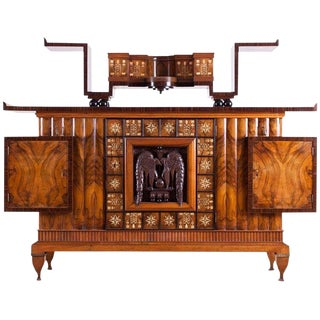 Osvaldo Borsani Art Deco Credenza For Sale