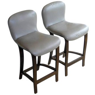 Pair of Rare Barstools by Plycraft For Sale