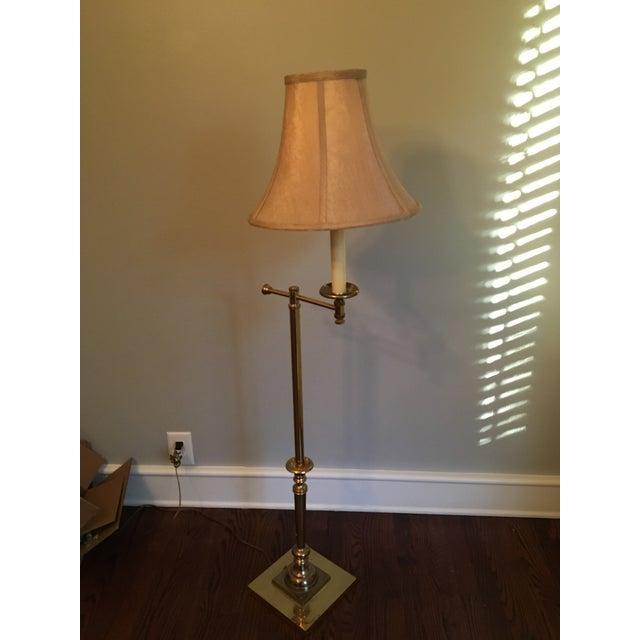 Vintage Bent Arm Floor Lamp - Image 5 of 9