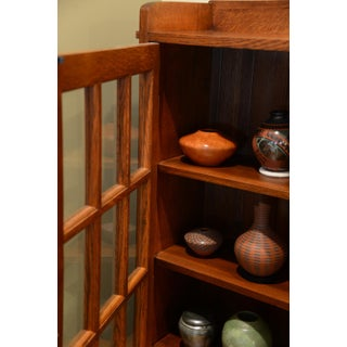Stickley Bookcase With Glass Doors Preview
