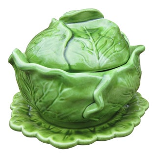 1960s Vintage Wildwood Ceramics Cottage Cabbage Soup Tureen For Sale