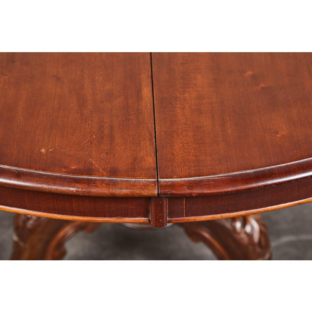 Brown Late 19th Century French Pedestal Table For Sale - Image 8 of 10