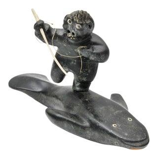 Large Judas Ullulaq (Ooloolah) Sculpture