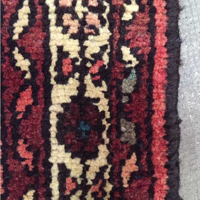 "Hamadan Hand Made Persian Rug - 2'5"" x 3'2"" - Image 8 of 9"