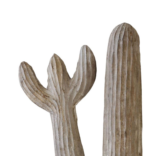 1950s Belgian Cactus Sculpture For Sale - Image 5 of 8