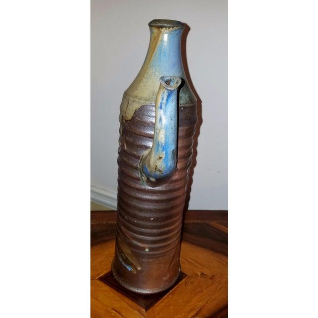 Mid-Century Modern Italian Pottery Pitcher - Image 5 of 9