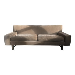 Crate & Barrel Pierce Tightback Modernist Apartment Sofa For Sale