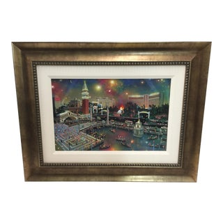 Alexander Chen Serigraph Las Vegas the Grand View Signed Lmt Ed For Sale