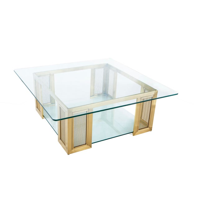 The signature item in the Irvine collection, this chic cocktail table is sure to become the showcase of any modern or...