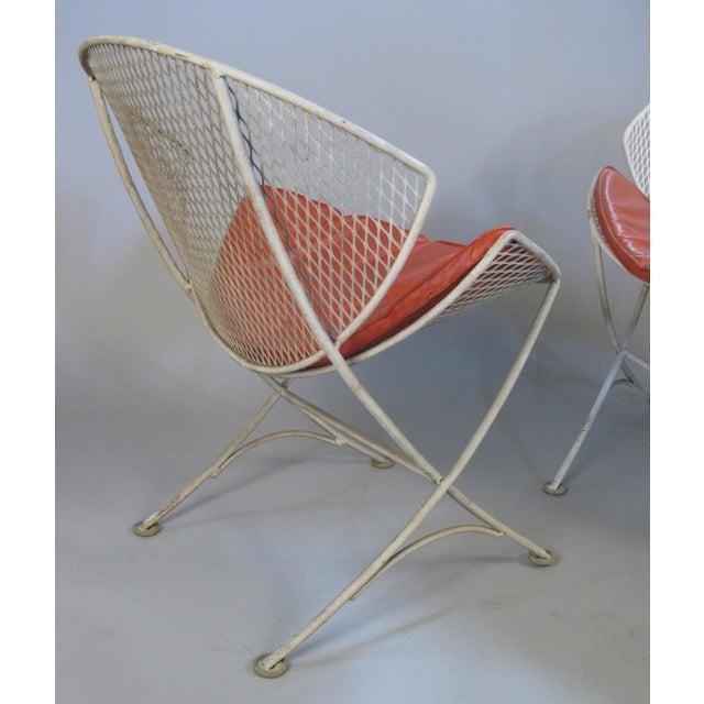 Salterini 1950s Salterini Orange Slice Settee and Lounge Chair For Sale - Image 4 of 7