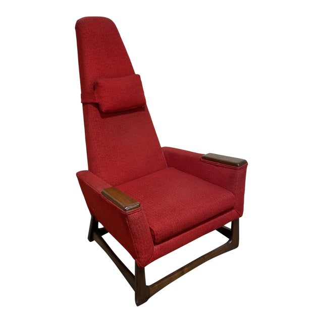 Adrian Pearsall Tall Back Lounge Chair For Sale