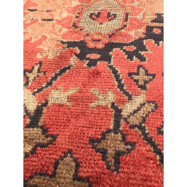 "Textile Antique Turkish Rug - 12'6"" x 15'7"" For Sale - Image 7 of 12"