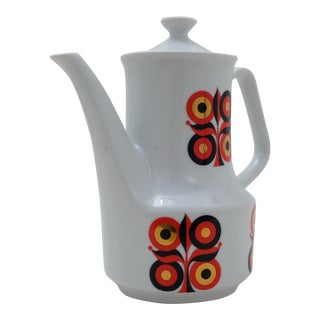 Mid-Century Modern Ceramic Coffee Pot For Sale