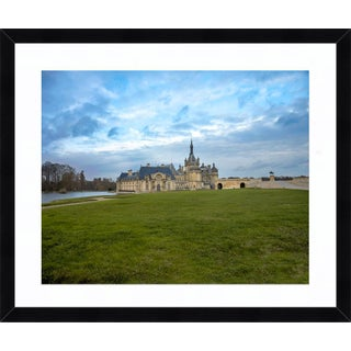 """""""Château De Chantilly"""" Contemporary Print by John Manno, Framed For Sale"""