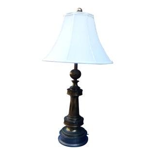 1932 Solid Brass Stiffel Lamp