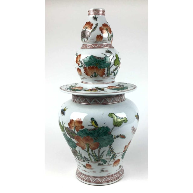 Antique Large Chinese Porcelain Vase For Sale - Image 13 of 13