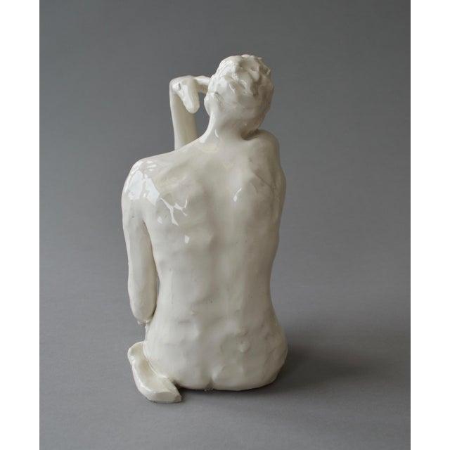 Contemporary Ceramic Figurative Maquette For Sale - Image 4 of 10