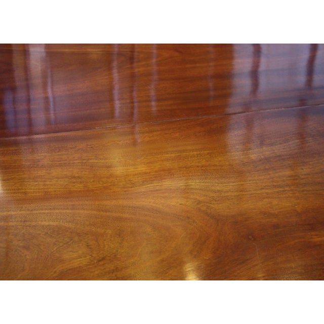 ENGLISH REGENCY DINING TABLE IN THE MANNER OF GILLOWS - Image 6 of 8