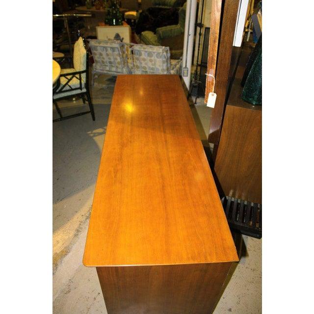 1950s 1950s Mid-Century Modern Renzo Rutili for John Stuart Cherrywood Dresser For Sale - Image 5 of 11