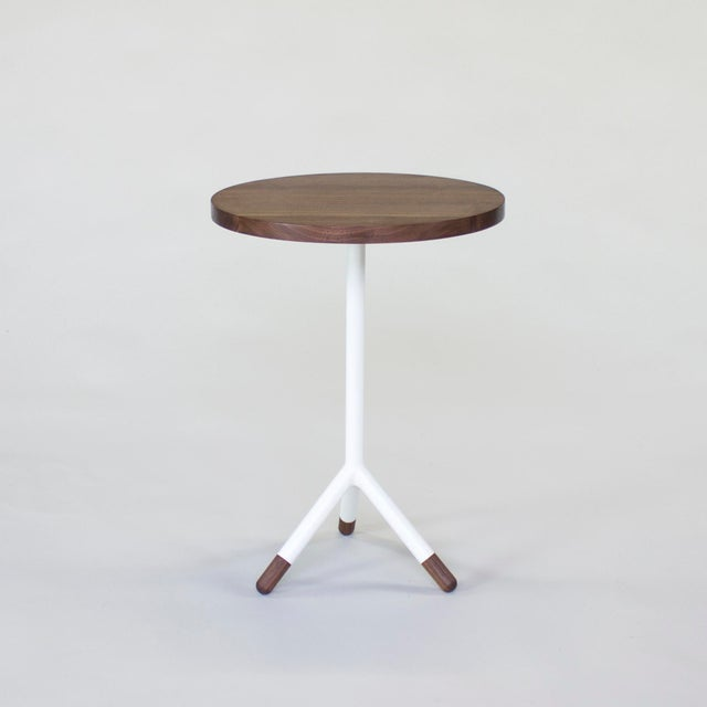 Solid wood top / rounded or square edge profile / steel base stem / high build color lacquer / solid wood socks Dimensions...