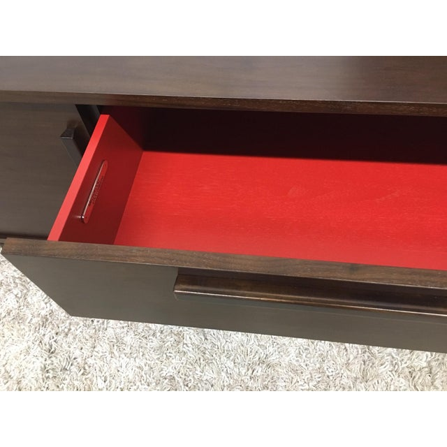 Mitchell Gold + Bob Williams Mid-Century Modern Tribeca Media Console For Sale - Image 4 of 5