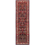 "Image of Vintage Persian Hamadan Rug – Size: 2' 3"" X 7' 3"" For Sale"