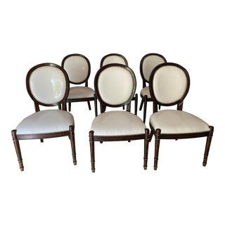 Baker Milling Road Louis XV Dining Room Chairs - Set of 6 For Sale