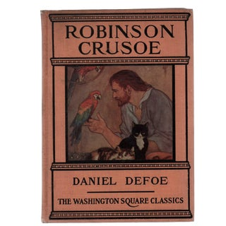 "1925 ""Robinson Crusoe"" Collectible Book For Sale"