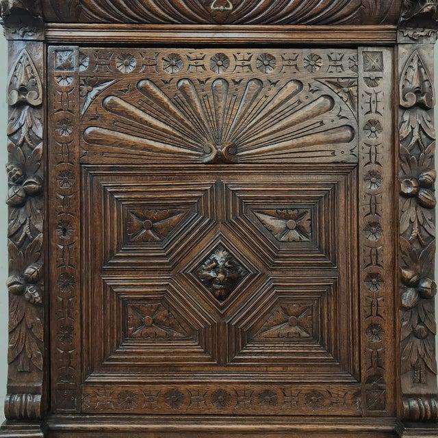 19th Century Flemish Renaissance Cabinet For Sale - Image 10 of 13