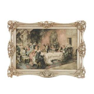 """Vincent Garcia De Paredes """"Dinner Party"""" Artwork For Sale"""