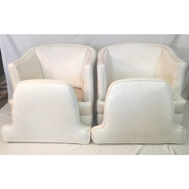 1960s Club Chairs - a Pair For Sale In Los Angeles - Image 6 of 10