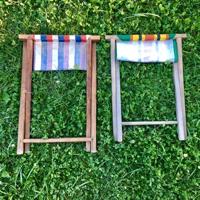 Vintage Camp Stool - A Pair - Image 10 of 11