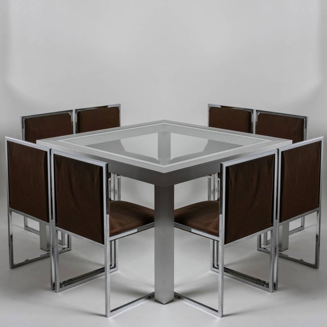 """Unique Set of Six """"Wright/Wright"""" Chairs by Nanda Vigo for Driade For Sale - Image 10 of 10"""