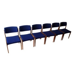 1960s Danish Rosewood Dining Chairs - Set of 6 For Sale