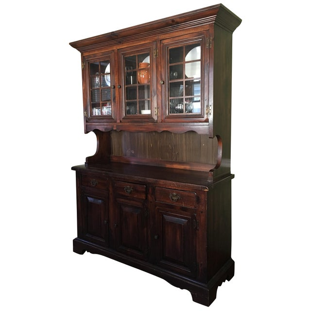 1970s Vintage Dining Room Hutch - Image 1 of 7