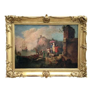19th Century Painting in the Style of Vernet For Sale