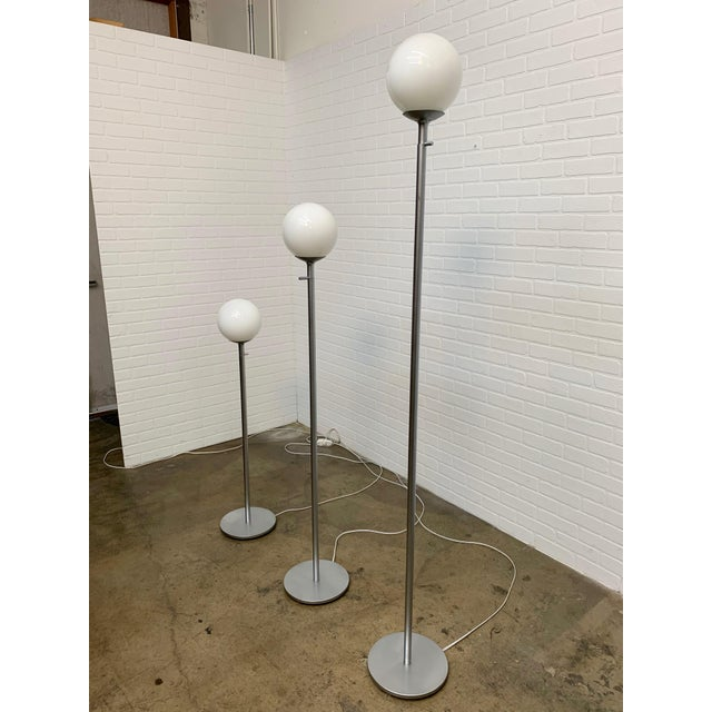 Vintage Globe Floor Lamps by ClassiCon - Set of 3 For Sale - Image 4 of 12