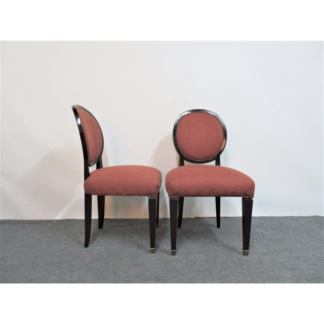John Widdicomb Hepplewhite Dining Chairs - Set of 6 - Image 5 of 8