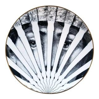 Piero Fornasetti Rosenthal Porcelain Plate, Motiv 26 1980s For Sale