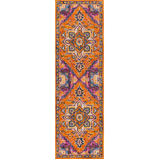 2010s Ibiza Orange Hand Tufted Area Rug 8' X 10' For Sale - Image 5 of 8