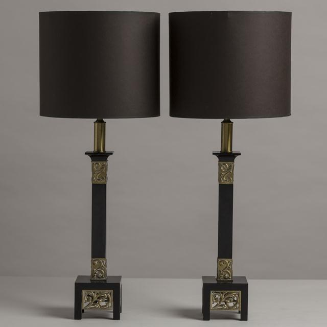 Rembrandt Lamp Company Pair of Rembrandt Classical Inspired Table Lamps, 1950s For Sale - Image 4 of 4