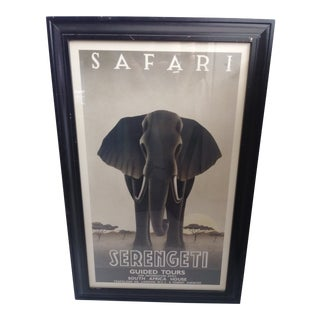 Steve Forney Safari Serengeti Print For Sale